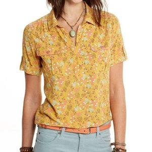 Matilda Jane Happy And Free Ginger Top Blouse